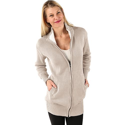 Women's Soybu Libations Full-Zip Sweater Coat