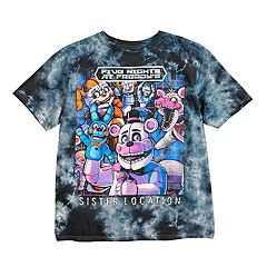 Boys 8-20 Five Nights At Freddy's Tie-Dyed Tee