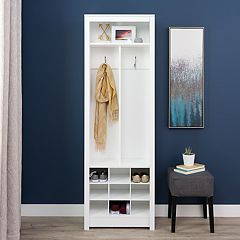 Prepac Space-Saving Entryway Storage Cabinet