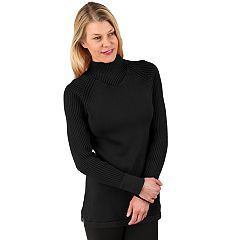 Women's Soybu Zeal Ribbed Mockneck Sweater