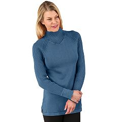 Women's Soybu Zeal Ribbed Mockneck Sweater