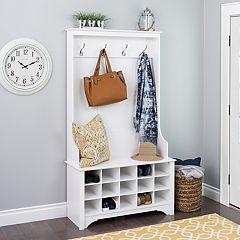 Prepac Hall Entryway Storage Cabinet