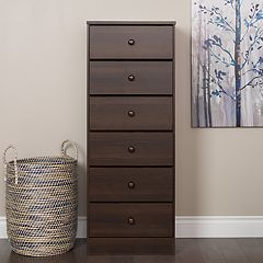 Prepac 6-Drawer Tall Dresser