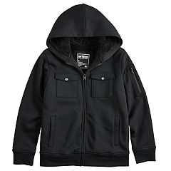 Boys 8-20 Urban Pipeline™ Military Sherpa Hoodie