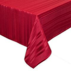 Food Network™ Microfiber Stripe Tablecloth
