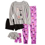 Girls 5-16 & Plus Size SO® Halloween Top, Pants & Shorts Pajama Set & Doll Pajama Set