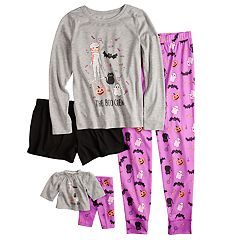 Girls 5-16 & Plus Size SO® Halloween Top, Pants & Shorts Pajama Set & Doll Pajama Set
