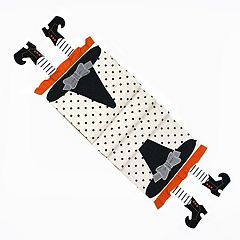 Celebrate Halloween Together Witch Legs Table Runner - 72'