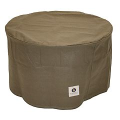 Duck Covers Essential 31-in. Round Patio Ottoman & End Table Cover