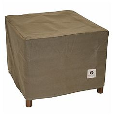 Duck Covers Essential 32-in. Square Patio Ottoman & End Table Cover