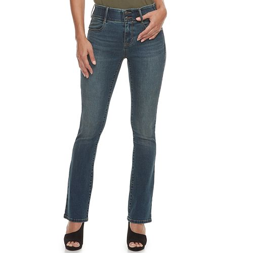 449bcf0fedc Women s Apt. 9® Tummy Control Curvy Midrise Bootcut Jeans