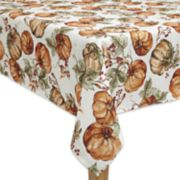 Celebrate Fall Together Pumpkin Tablecloth
