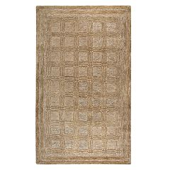 Rizzy Home Fifth Avenue Casual Squares Geometric Rug