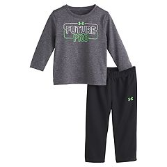 Baby Boy Under Armour 'Future Pro' Tee & Athletic Pants Set