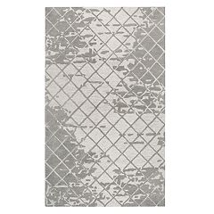 Rizzy Home Idyllic Contemporary Abstract Geometric Rug