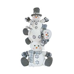 Holiday Stack of Snowman 22' Floor Decor