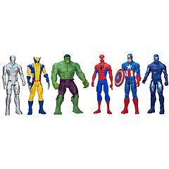 Marvel Universe Titan Hero Series Super Hero Collection Set by Hasbro