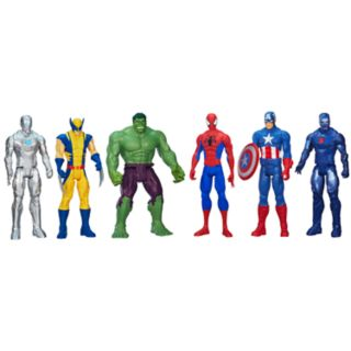 Marvel Universe Titan Hero Series Super Hero Collection Set by Hasbro