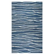Rizzy Home Idyllic Contemporary Lines Striped Rug