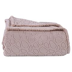 Better Living Plush Embossed Circles Blanket
