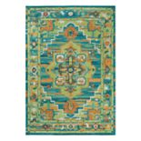 Rizzy Home Arden Loft Kavali Boho Center Medallion Geometric Rug