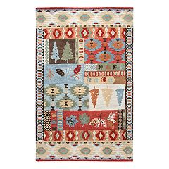 Rizzy Home Northwoods Lodge Patchwork I Geometric Rug