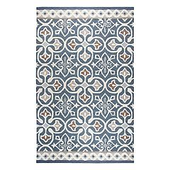 Rizzy Home Opulent Transitional Medallion I Geometric Rug