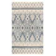 Rizzy Home Opulent Transitional Tribal Geometric Rug