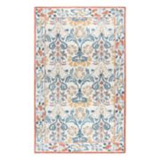 Rizzy Home Opulent Transitional Floral Rug