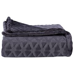 Better Living Plush Triangle Throw Blanket
