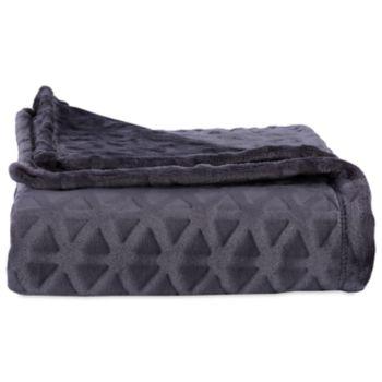 Better Living Plush Triangle Throw Blanket