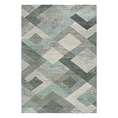 Rizzy Home Arden Loft Sandhurst Transitional I Geometric Rug