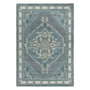 Rizzy Home Arden Loft Sandhurst Traditional Medallion Geometric Rug