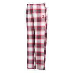Women's Ohio State Buckeyes Dorm Flannel Pants
