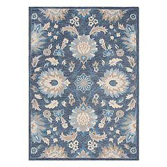 Rizzy Home Arden Loft Sandhurst Transitional Classic Floral Rug