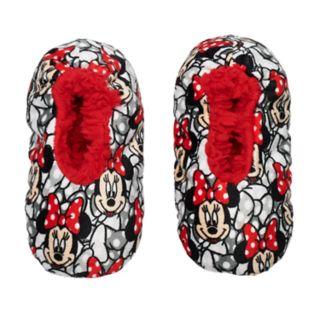 Disney's Minnie Mouse Toddler Girl Fuzzy Babba Slipper Socks