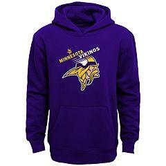 Boys 4-18 Minnesota Vikings Flux Hoodie