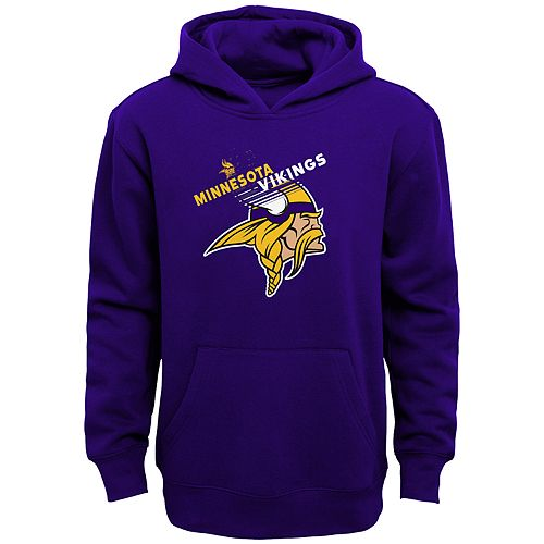 063d4000 Boys 4-18 Minnesota Vikings Flux Hoodie
