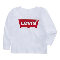 Baby Boy Levi's® Logo White Graphic Tee