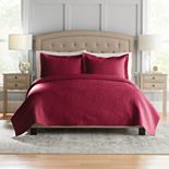 Croft & Barrow® Anna Solid Quilt or Sham