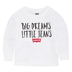Baby Boy Levi's 'Big Dreams Little Jeans' Graphic Tee