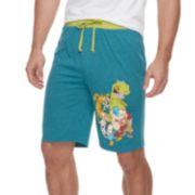 Men's Nickelodeon Character Jams Shorts