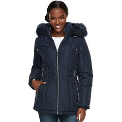 Women's d.e.t.a.i.l.s Hooded Quilted Heavyweight Jacket