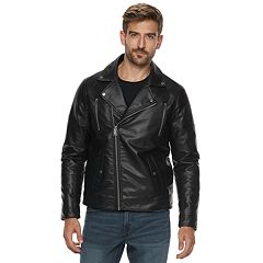 Men's Marc Anthony Slim-Fit Faux-Leather Moto Jacket