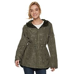 Women's d.e.t.a.i.l.s Hooded Reversible Anorak Jacket