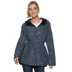 Women's d.e.t.a.i.l.s Hooded Reversible Anorak Jacket