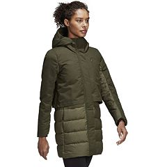 Women's adidas Outdoor Hooded Climawarm Down Jacket