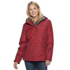 Women's Free Country Hooded 3-in-1 Systems Jacket