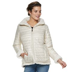 Women's Gallery Faux-Fur Reversible Jacket