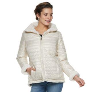 Women's Gallery Faux-Fur Reversible Jacket